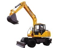 JHL135轮式挖掘机