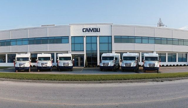 Cambli Group manufacturer tactical armoured trucks designer Company North America Canada Canadian defense security industry