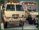 At the International Defence Industry Exhibition MSPO 2012 in Poland, Oshkosh Defense, a division of Oshkosh Corporation, presents its MRAP All-Terrain Vehicle (M-ATV) Special Forces Vehicle (SFV) as well as its FMTV Cargo 4x4.