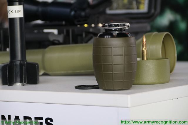 Instalaza SA is a Spanish Company that designs, develops and manufactures equipment and other military material for infantry. At SITDEF 2017, the International Defense Exhibition in Peru, Instalaza showcases its new technology of hand grenade using mechano-electronic delay fuze. This state of the art solution designed and produced by Instalaza does not need batteries since it generates its own energy.