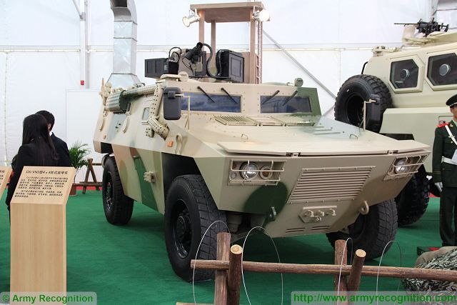 CS/VN3 4x4 light tacical armoured vehicle technical data sheet specifications pictures video information description intelligence identification China Chinese NORINCO Poly Technologies army industry military technology equipment
