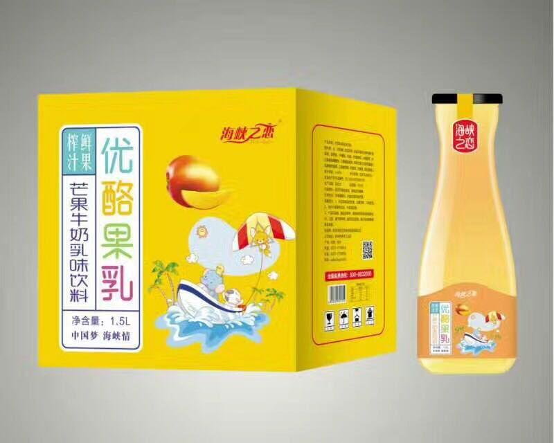 芒果牛奶1.5L×6瓶