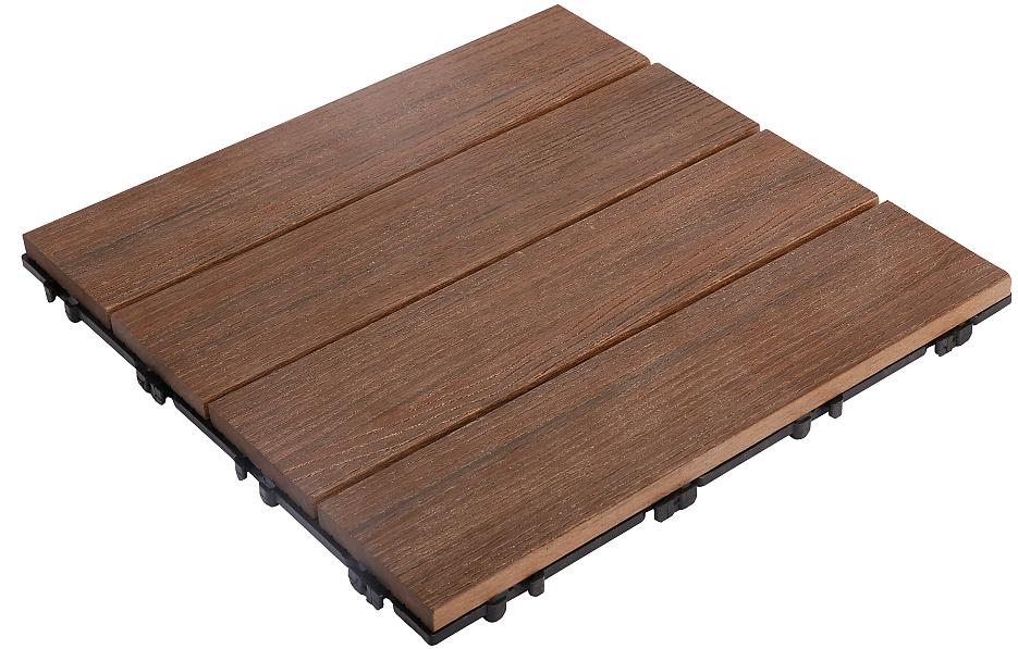 YS30A(黑胡桃)DIY木塑地板