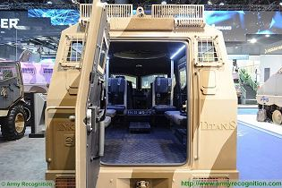 Titan S APC 4x4 armoured vehicle personnel carrier INKAS UAE defense industry 640 back view 001