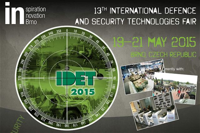 IDET 2015 pictures Web TV Television International Defence Security Technologies fair exhibition Brno Czech Republic
