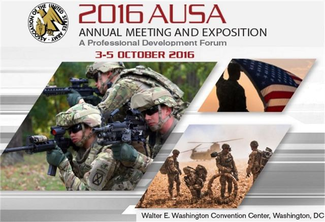 AUSA 2016 pictures video Web TV Television photos United States Army Annual Meeting Exhibition and Conference Washington D.C.