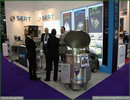 United Kingdom, London. At DSEI 2013, SERT presence didn't go unnoticed, with many military personnel of all grades as well as trade visitors stopping by the French exhibitor's booth to check its new mobile Platform Field Kitchen CRP1000's cooking module fitted with a wok.