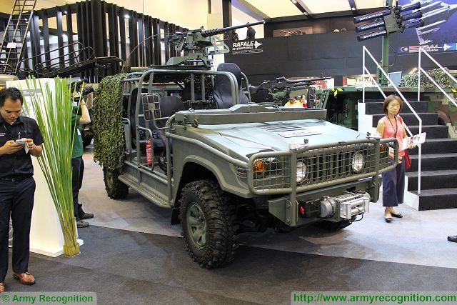 New Weststar 4x4 Defence Special Operations Vehicle SOV at DSA 2016 640 001