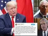 'Guts!' Donald Trump hailed confidant Roger Stone after he said there was 'no circumstance' in which he would testify against Trump