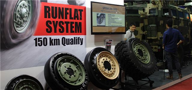 Chaiseri run flat system Thai Thailand defense industry 640 001