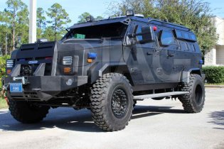 Sentinel IAG Armored Tactical Response Vehicle