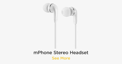 mPhone Stereo Headsets