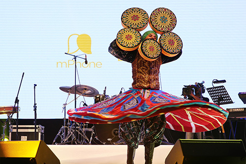mPhone Launching Ceremony - Tanoura Dance