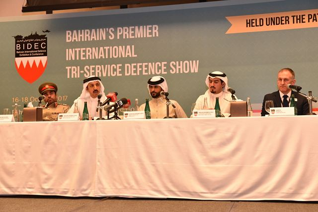 Bahrain will host one of the leading International Defence Exhibition in 2017 named BIDEC 2017 640 001
