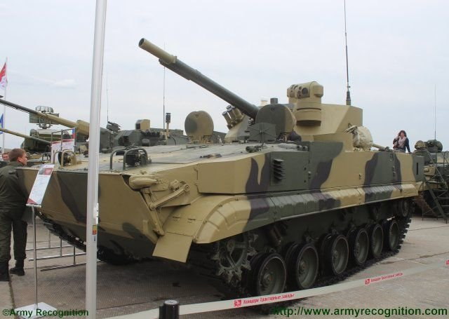 New BMP 3M 100 Dragun fitted with RCWS turret unveiled at Russia Arms Expo 2015 640 001