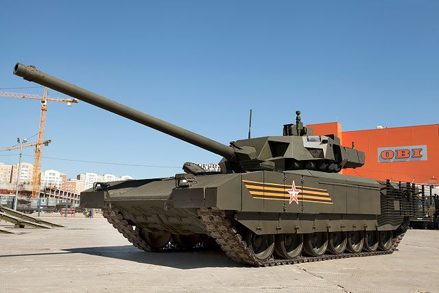 New Russian 1st Tank Army unit will be equipped with T-14 Armata MBTs and Kurganets IFVs 640 001