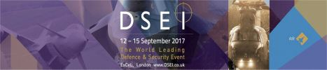 DSEI 2017 world leading Defence and securit event exhibition London United Kingdom banner 468x100 001