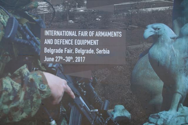 Partner 2017 pictures Web TV Television International fair of armament military equipment Belgrade Serbia