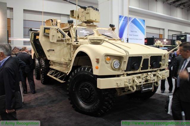 M-ATV 6x6 Oshkosh Defense Mine-Resistance Ambush Protected Vehicles Oshkosh AUSA 2015 640 001