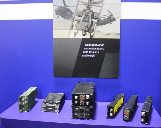 Elbit Systems showcases its new firefly modular radio communications power amplifiers 640 001
