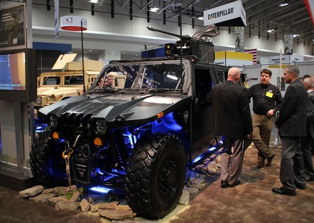 Northrop Grumman releases its Hellhound light reconnaissance vehicle at AUSA 2015 640 001