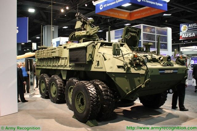 Stryker DVH Engineering Change Proposal ECP General Dynamics AUSA 2015 640 001