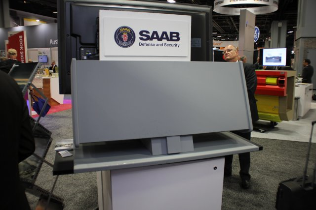 Saab launches the Giraffe 1X mutli role land radar in US market at AUSA 2016 640 001