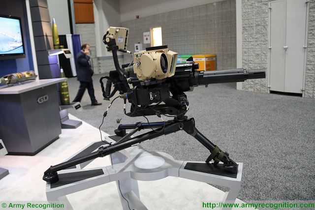 General Dynamics Next Generation Fire-Control System NGFCS for MK47 40mm grenade launcher 640 001