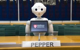 'Pepper' this month became the first robot to appear before a parliamentary select committee