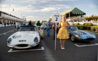 goodwood revival cars and fashion