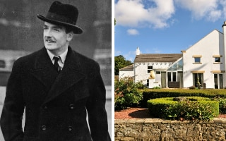 Anthony Eden's hat and coat are included in the sale of this house in County Durham