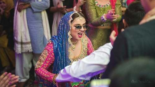 Comedian Faiza Saleem explains why she decided to 'have the most fun' at her wedding