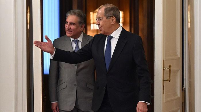 Pakistan, Russia foreign ministers discuss Afghan peace process in Moscow