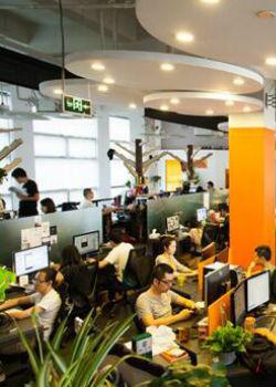 信息传输有限公司办公装修案例