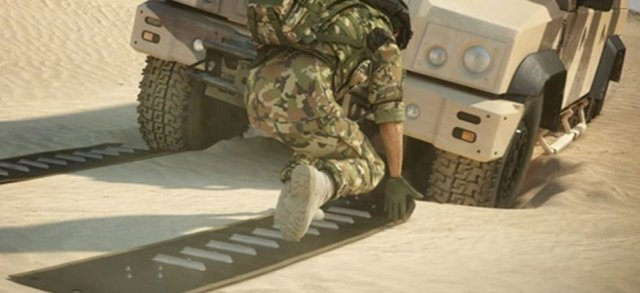 Mobile DFP Vehicle Recovery Mats Musthane Mustmove defence military army 640 002