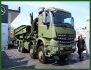 At Eurosatory 2014, Mercedes-Benz has presented its new Arocs 8x8, an off-road heavy-duty truck. Apart from their excellent environmental compatibility thanks to their Euro VI engines, the new Arocs vehicles boast three outstanding attributes: power, efficiency and ruggedness.