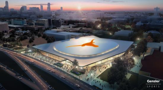 Texas Longhorns arena