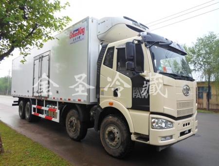解放J6 9.6米冷藏车