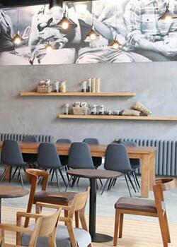 咖啡店铺装修设计案例