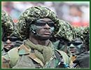 Ghana Ghanaian Army ranks military combat field uniforms dress grades uniformes combat armee Ghana Ghan�enne