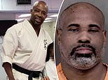 The suspect - 47-year-old August Williams - was said to have ran the woman into the Bushiken Karate Charlotte Dojo at around 9pm on Thursday