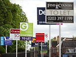 The value of a typical home dropped by £1,763 in December alone, according tofigures from mortgage lender Nationwide (file picture)