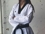 Taekwondo star Jade Slavin, 26, from Country Durham, who measures 6ft 4in, has opened up about embracing her height
