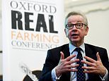 Britain's Environment secretary, Micheal Gove awaits to speak at the Oxford Real Farming conference in the Town Hall in Oxford, Britain, 03 January 2019. Gove says a no deal and second referendum would be playing with fire as he urges people to back Theresa May's Brexit deal