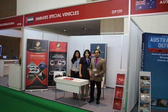 At Indodefence 2016 Emirates Special Vehicles introduces  ts wide range of products and services