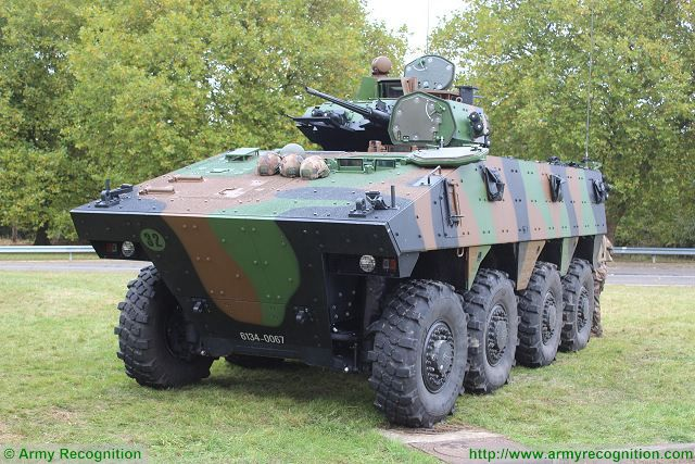 Nexter Systems from France showcases its VBCI 8x8 Infantry Fighting Vehicle at IAV 2017 640 001