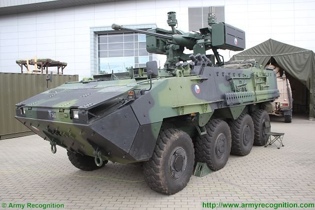 Czech Republic to buy 20 Pandur II 8x8 Armored Personnel Carrier vehicles 640 001