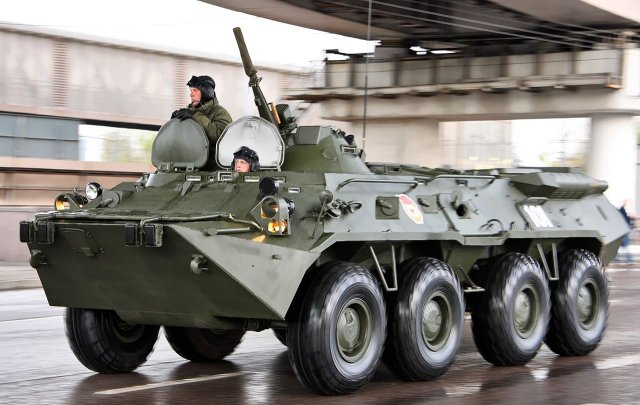 Russia to deliver BTR-80 armored personnel carriers to UN peacekeepers 640 001