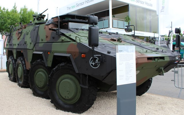 Rheinmetall and Tectonica establish partnership for the supply of land 400 Boxer LSWS 640 001