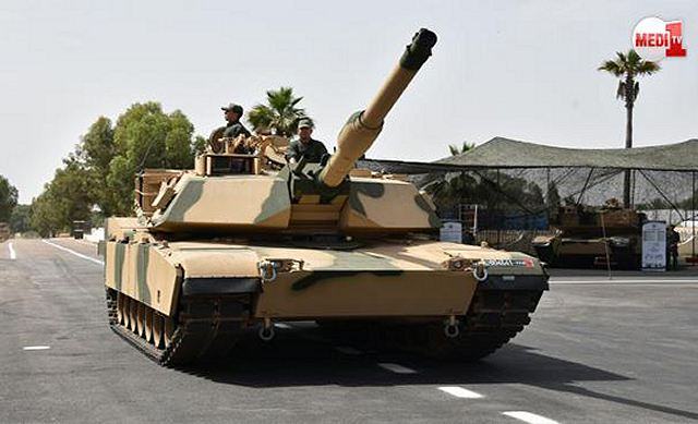 American-made M1A1 SA Abrams tank officially entered into service with Moroccan army 640 001